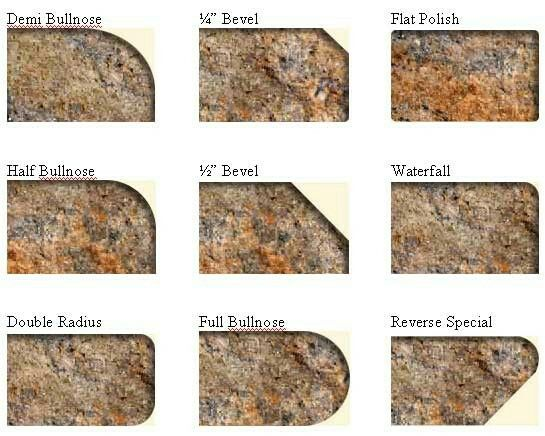 Granite Countertop Edge Chip Repair : The 25+ best ideas about Granite Countertop Edges on Pinterest Dream ...