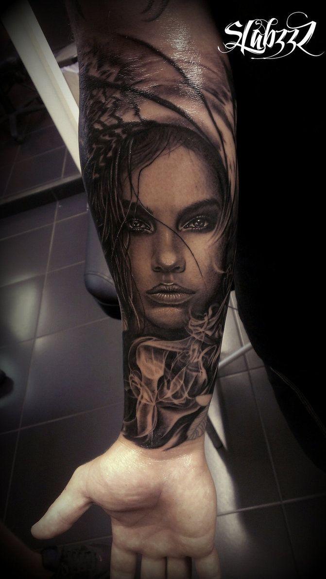 Smoke tattoo by CalebSlabzzzGraham