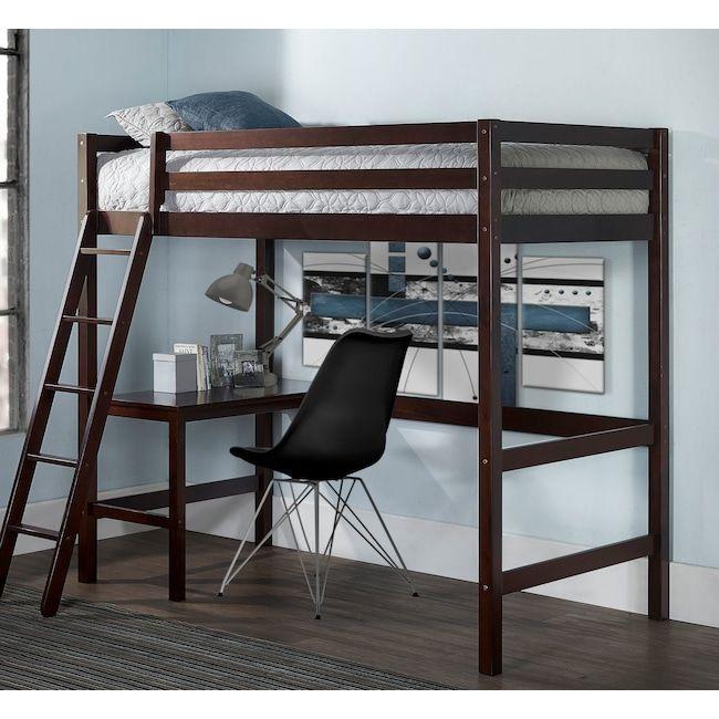 Hudson Loft Bed Twin Loft Bed Loft Bed Hillsdale Furniture