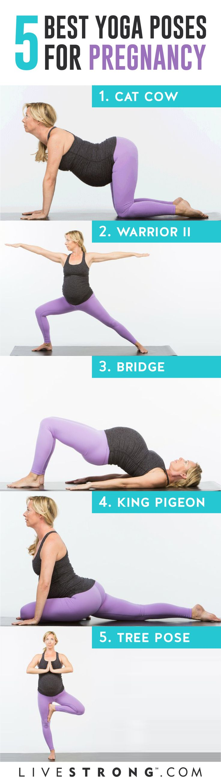The 5 Best Yoga Poses for Pregnancy