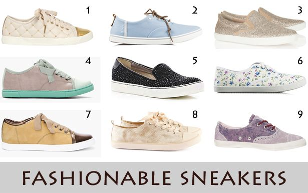 fashionable sneakers for women