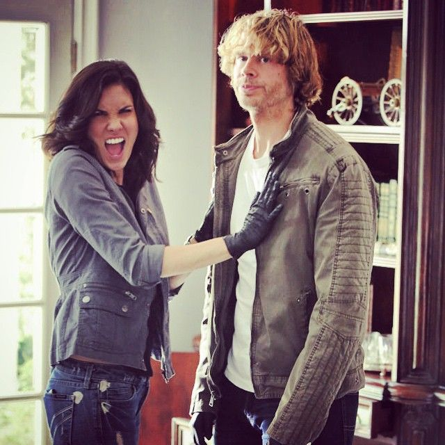 Eric Christian Olsen and Daniela Ruah   Shows and Movies ...