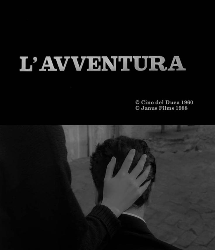 L'Avventura (1960) Michelangelo Antonioni