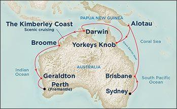 Northern Australia Explorer Dawn Princess