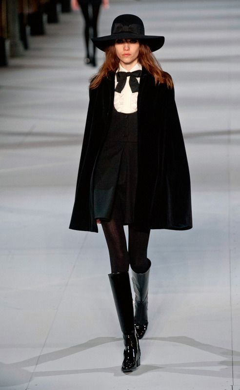 Saint Laurent - Fall/Winter 2014-2015 Paris Fashion Week