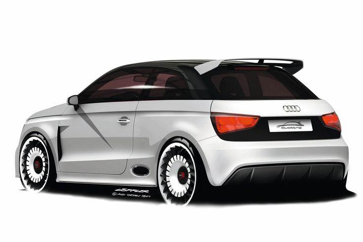 Audi A1 Clubsport Quattro Concept: Фото 2011 Audi, Clubsport Quattro, Four Concepts, Audi A1