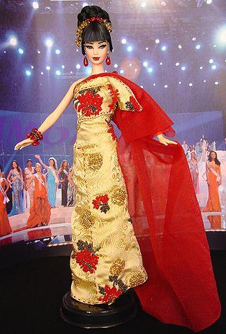 OOAK Barbie NiniMomo's Miss China 2011