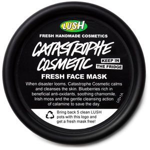 Catastrophe Cosmetic - LUSH. One of my favourite face masks, excellent for sensitive and dry skin!