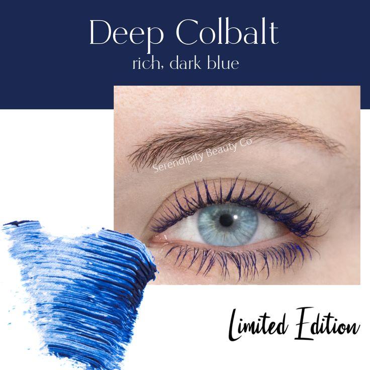 SeneGence LashSense VolumeIntense Mascara Deep Cobalt in
