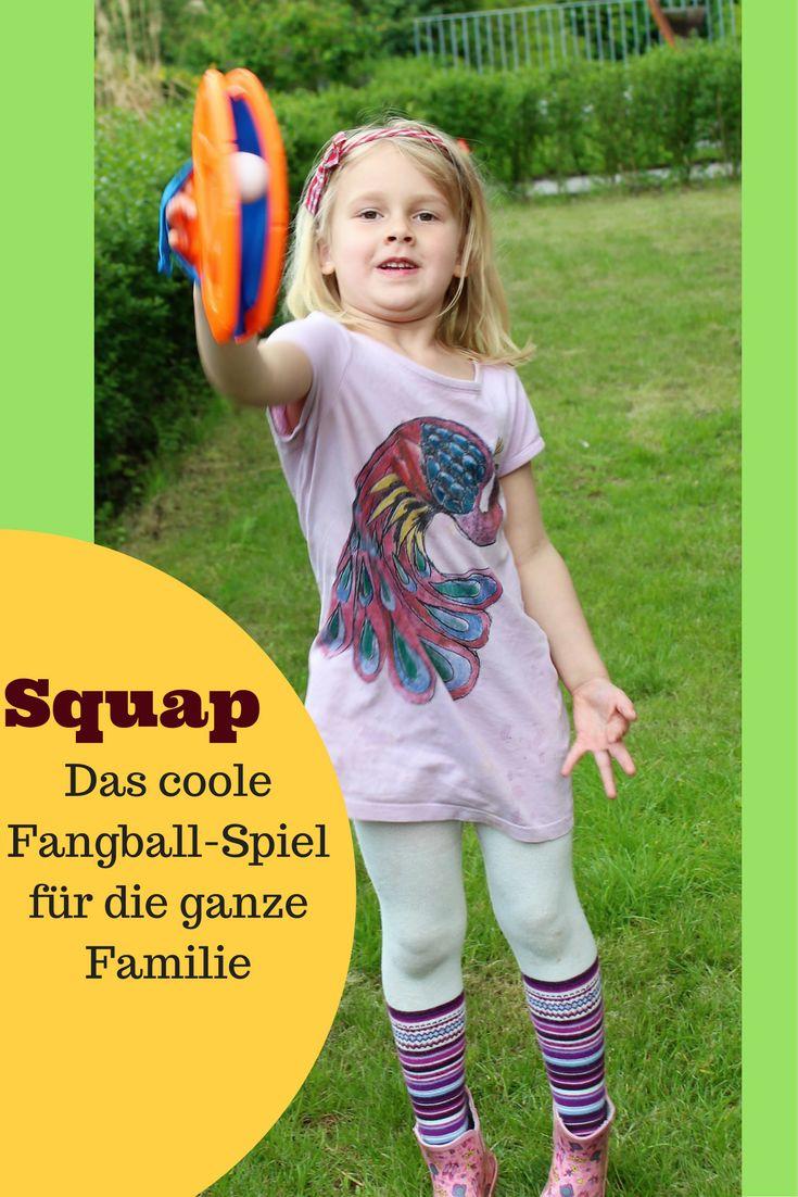 Squap ist ein lustiges Spiel für Kinder ab sechs, Jugendliche und Erwachsene! Es bringt nicht nur Bewegung, sondern vor allem viel Spaß!