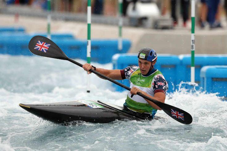 Joe Clarke Gold Medal Slalom for Team GB Rio 2016