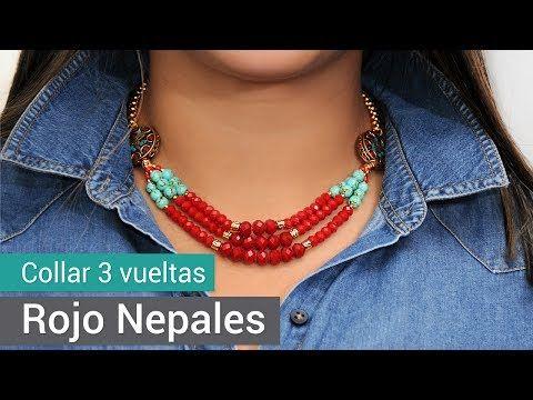 Aprende Cómo Hacer un Collar San Valentin Fosil y Cerámica - Variedades y Fantasías Carol - YouTube