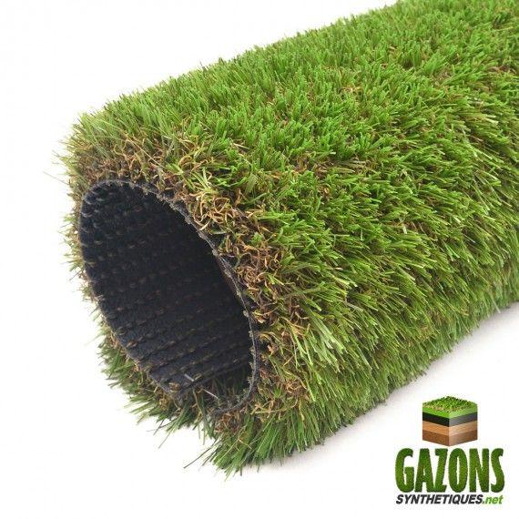 Le Gazon Synthetique Phocea 37mm De Power Grass Est Un Gazon Artificiel De Tres Haute Qualite Constitue De Gazon En Rouleau Gazon Synthetique Gazon Artificiel