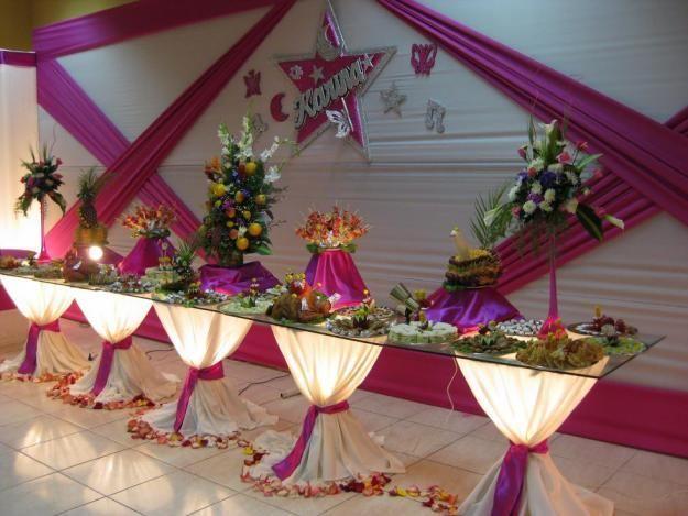 Novedades de waldita decoraci n para fiesta de matrimonio for Decoracion para quince anos