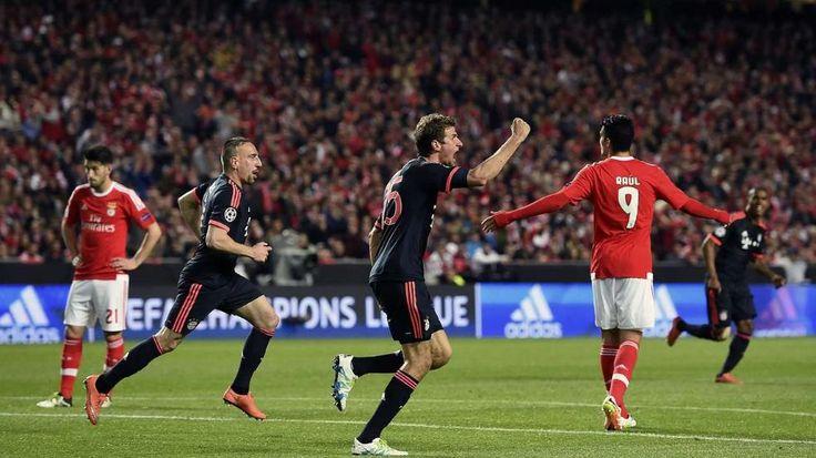 BILD-Zeugnis für die Bayern nach dem Champions-League-Viertelfinale bei Benfica Lissabon. Manuel Neuer patzt, Note5! - Bundesliga Saison 2015/16 - Bild.de