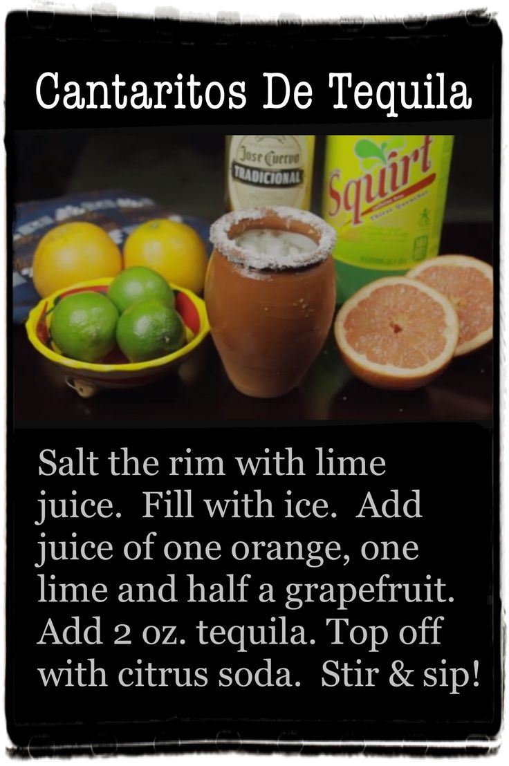 The 25 best mexican alcoholic drinks ideas on pinterest for Party drinks with tequila