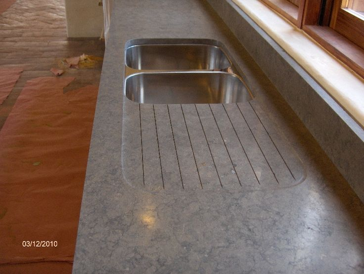 Double Low Divide Stainless Steel Sink With Built In Drainboard Google Search Kitchen