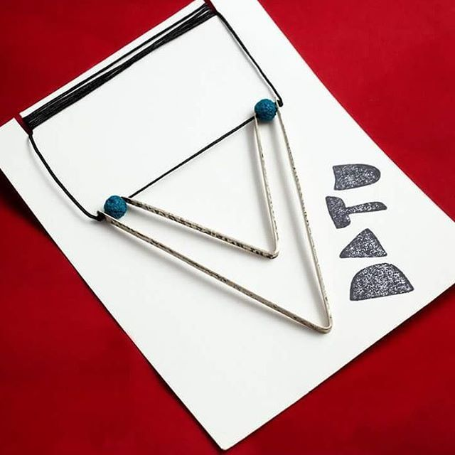 It's already travelling... #datu_workshop #jewellery #handmade #jewelry #geometry #fashion #industrialdesign #necklace