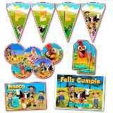 Kit Candy Bar Canciones De La Granja Impreso Stickers Y Mas - $ 270,00