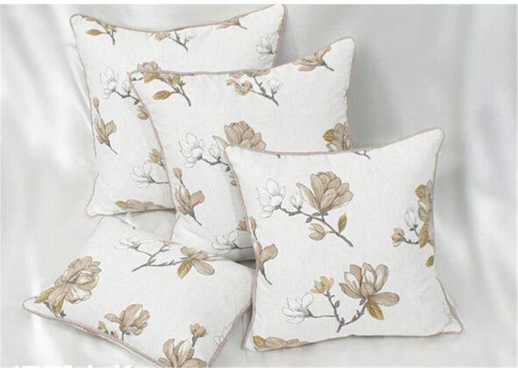 Подушки уютно кофе цветник большой диван подушка большой крышка AV4014