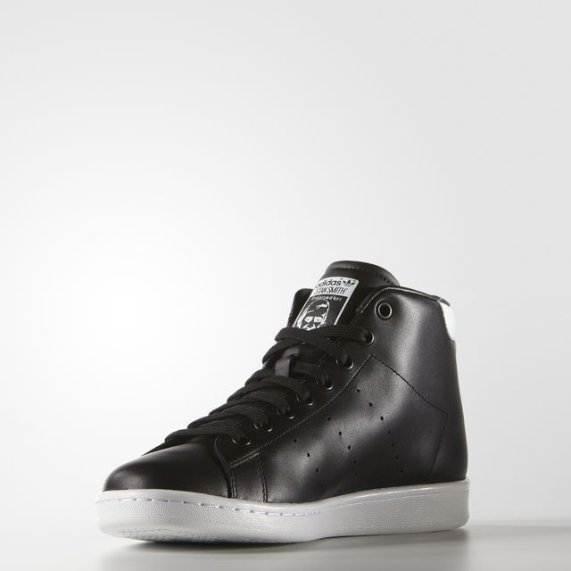 Stan Smith Mid Black