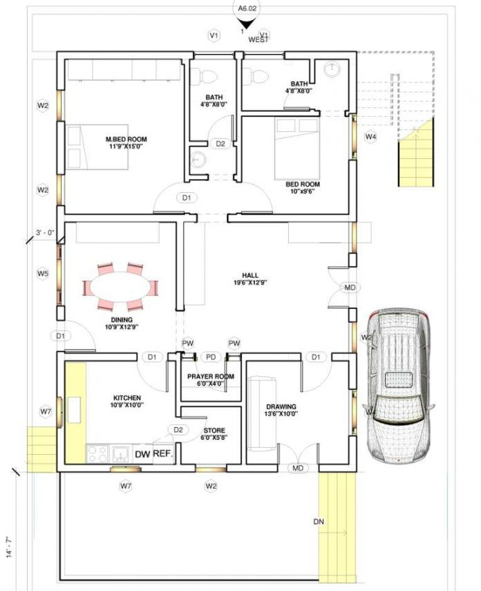 East Facing Vastu Home 40x60 Everyone Will Like Homes In Kerala India 20x40 House Plans 2bhk House Plan 30x40 House Plans