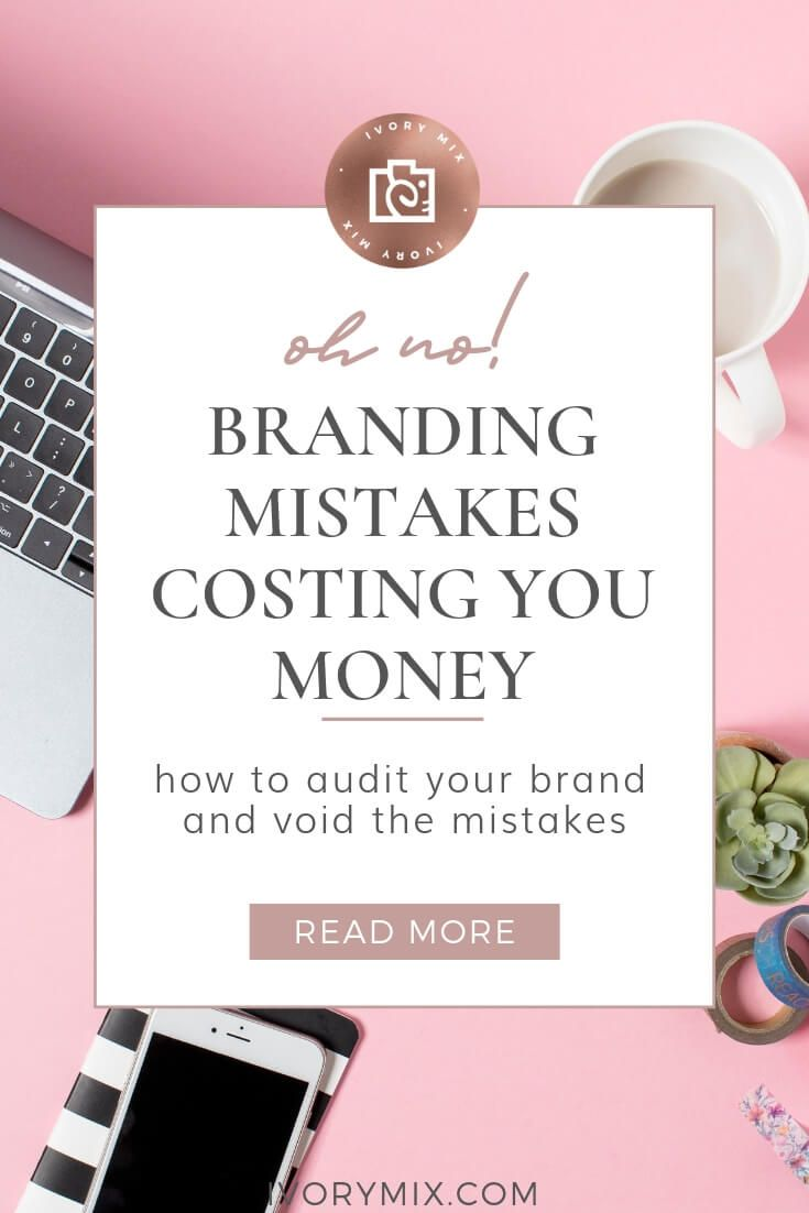 Avoid These Mistakes When Branding Your Website And Blog Why Is Branding Important Anyway When It Comes To M With Images Branding Social Branding Blogging Inspiration