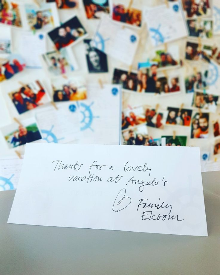 Really thank you for your lovely message Ekbom family!!🇸🇪👨‍👩‍👧‍👦🇸🇪 Have a nice trip back and see you soon in Stockholm!! 🌍 www.angelosalonissos.com #angelos_apartments #alonissos #sporades #greece #summer2017 #guests #sweden #scandinavia #stockholm #amazing_family #perfect_guests
