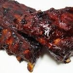Oven Baked Ribs - Fast & Easy!  They are YUMMY! These cook in less than half the time ribs normally take.