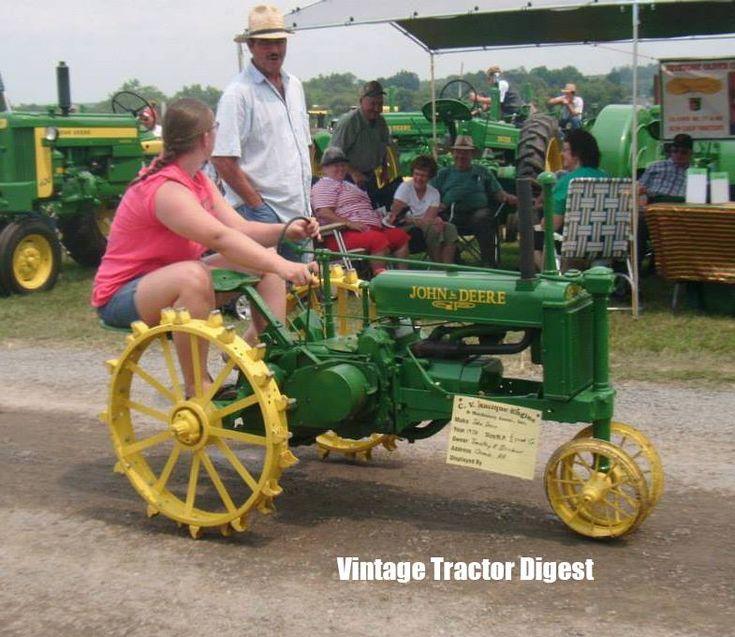 Mini Antique Tractors : Best images about tractors oldies farming tools