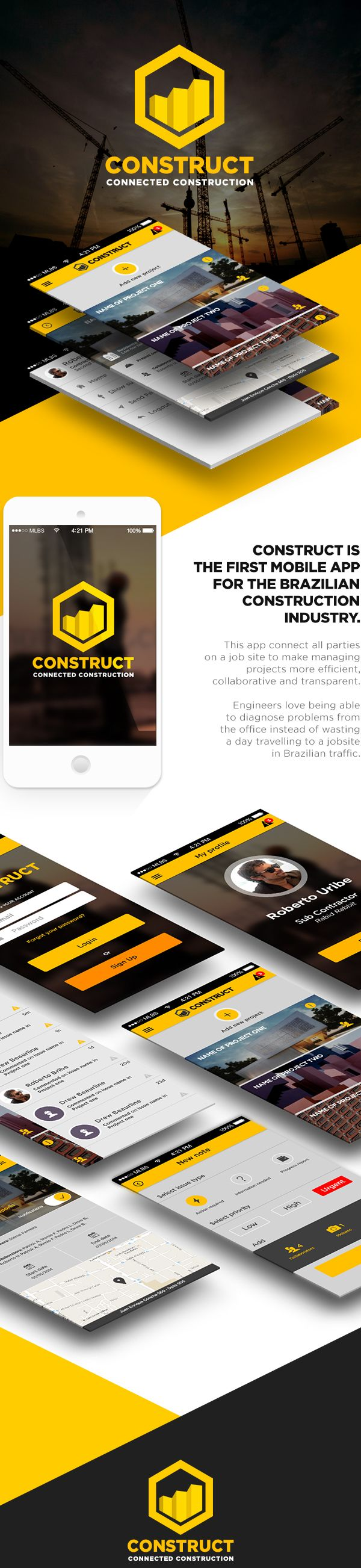 Construct / StartUp / Mobile App by Roberto Uribe. http://bit.ly/1w1E4Hb
