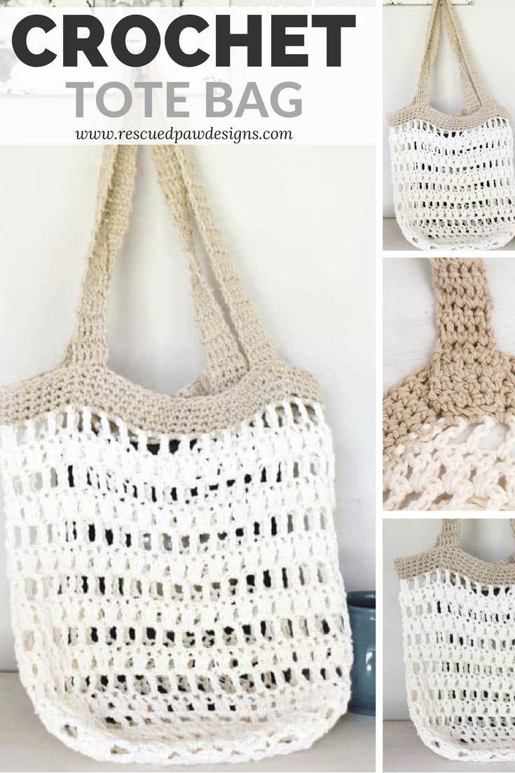 Beginner Crochet Market Tote Bag Crochet Bags 2 Pinterest Taschen