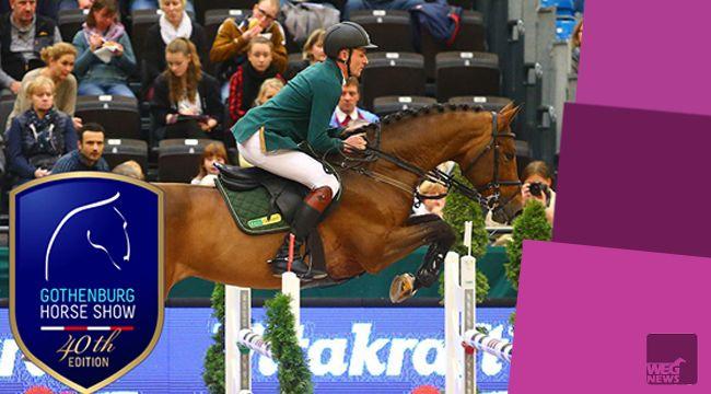 Za nami pierwszy dzień Goeteborg Horse Show i rozgrzewka w konkursach dodatkowych dla polskich skoczków – Jarosława Skrzyczyńskiego i Michała