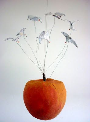 James and the Giant Peach! I kind of want to make something like this.