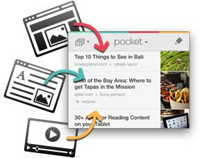 Pocket (Formerly Read It Later)- When you find something you want to view later, put it in Pocket. Then share as a doc for free.