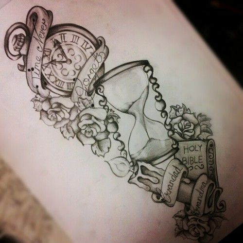 traditional stopwatch tattoos | ... tattoo features an online pinboard to prisontattoos eminem tattoos