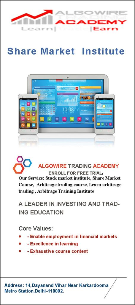 https://flic.kr/p/GXNMF1 | Stock Market Courses in Delhi, Share Trading Courses, Stock Market training Institute, share market courses in Delhi, share market institute in Delhi, stock market courses, | Algowire academy is one the leading stock market training institute providing share market courses, financial and share trading courses in Delhi NCR at affordable prices. For More details visit us : www.algowireacademy.com/