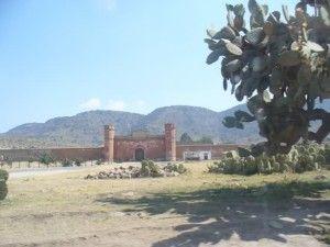 Ex hacienda pulquera Santiago Tetlapayac en Hidalgo