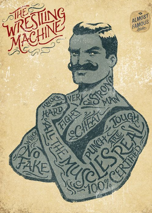Samy Halim ~ The Wrestling Machine #Illustration: