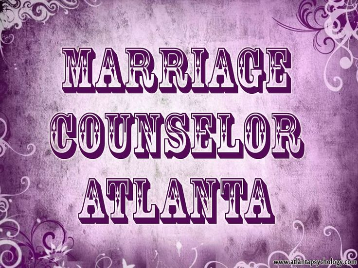 Try this site http://www.atlantapsychology.com/marital-counseling/ for more information on Marriage Counselor. Although most of us do not like to admit it, there will come a time in many marriages when the services of a Marriage Counselor can be highly beneficial. Not only can they help you solve some of the simpler disputes in life, a well-trained marriage counselor can provide you and your spouse with the tools that you both need to create a loving and positive marital relationship.