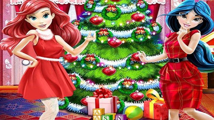 Em Árvore de Natal das Princesas Disney, as Princesas Disney Ariel e Jasmine estão se preparando para o Natal. E elas precisam de sua ajuda para que tudo fique pronto a tempo. Ajude as Princesas Disney decorar a Árvore de Natal e se vestir para o Natal. Divirta-se com as Princesas Disney!