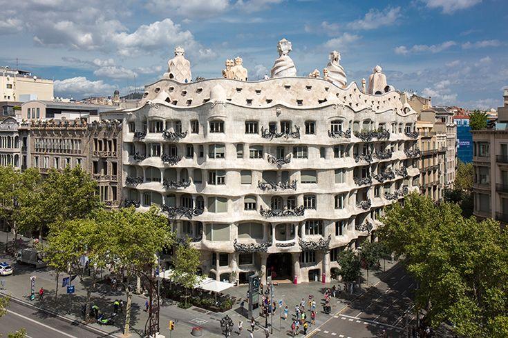 Gaudís La Pedrea. Foto: Catalunya-La Pedrera Foundation