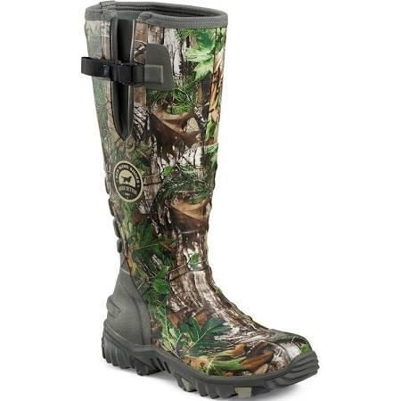 Irish Setter Boots by Red Wing Shoes Men's Rutmaster 2.0 Green/Camo (Green/Green) Waterproof Hunting Boot, Size: 10 - Brought to you by Avarsha.com