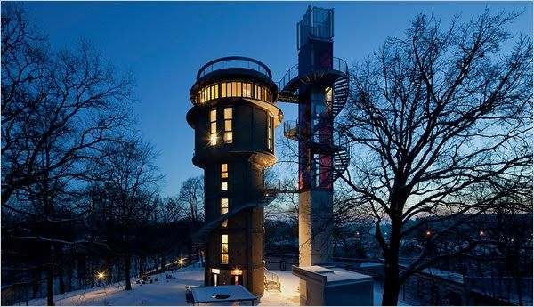 Biorama aka The Water Tower House, Joachimsthal, Germany