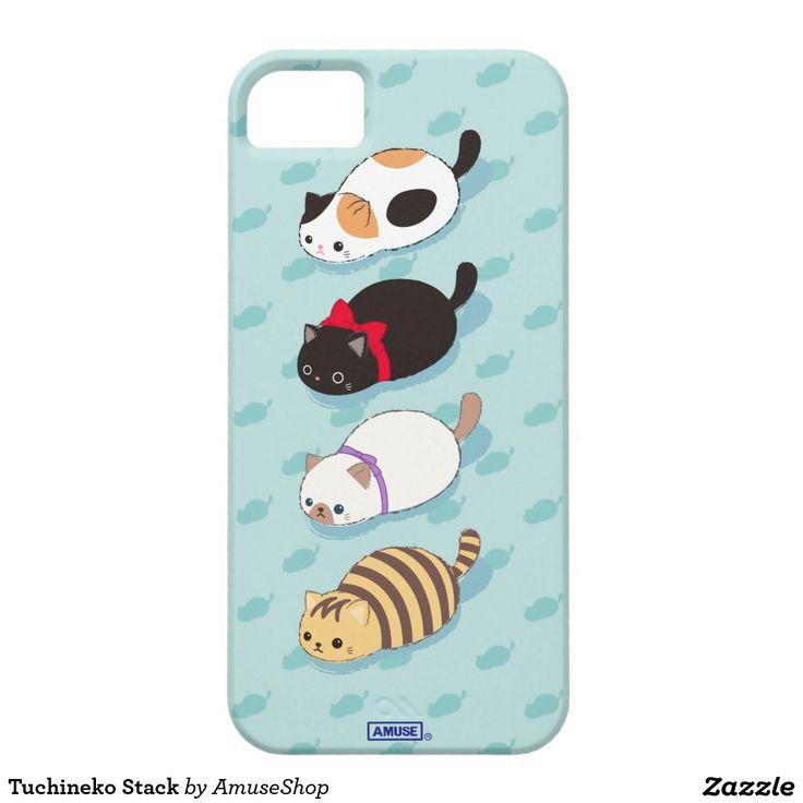 Tuchineko Stack iPhone SE/5/5S Case cat #carcasas #cases