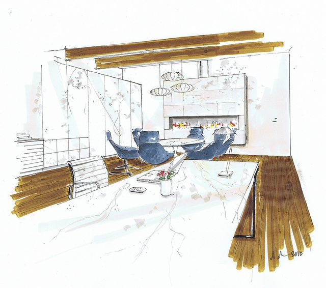 Interior Design Office Sketches 697 best sketches, design, interior images on pinterest | sketch