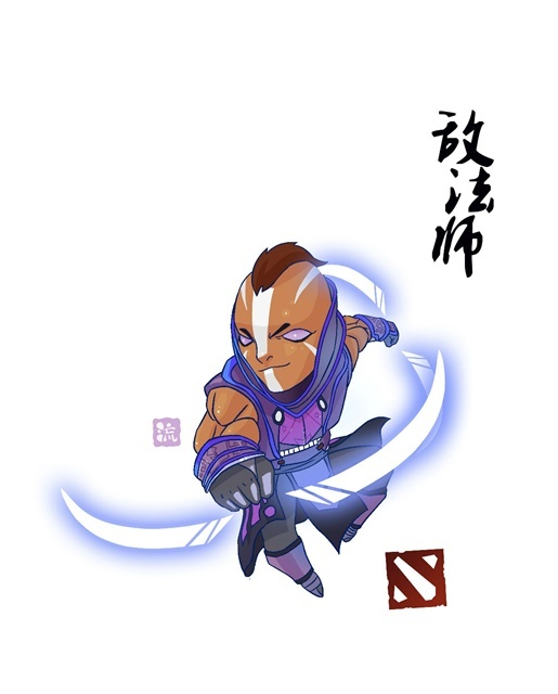 #Dota2 Anti mage artwork, löl..