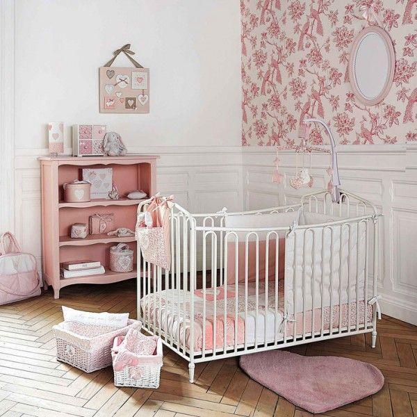 ... chambre bébé fille vintage http://www.homelisty.com/chambre-bebe