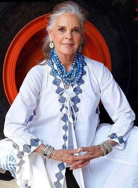 Ali MacGraw at 78 years old. Still beautiful. Photo via @JoeRuggerio