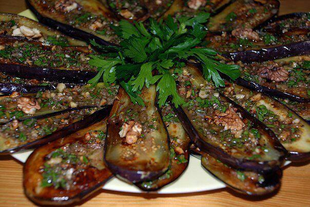 Самые вкусные рецепты: Баклажаны по-сербски